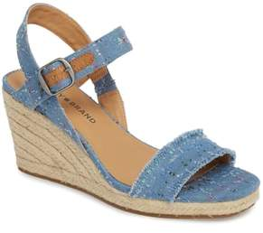 Lucky Brand Marceline Squared Toe Wedge Sandal