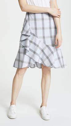 J.o.a. x Chriselle Ruffle Skirt