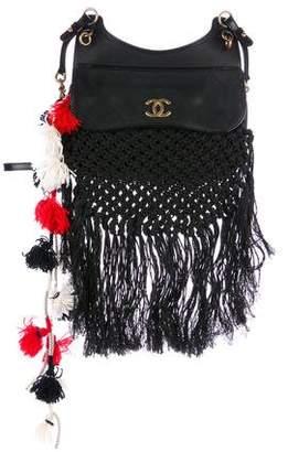 Chanel Cruise 2015 Crochet Desert Bag
