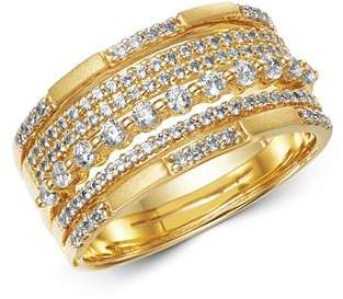 Bloomingdale's Diamond Multi Row Band in Satin Finish 14K Yellow Gold, 0.60 ct. t.w. - 100% Exclusive