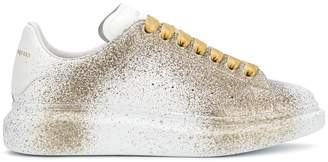 Alexander McQueen paint splattered sneakers
