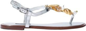 Dolce & Gabbana Toe strap sandals - Item 11510376DG