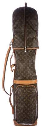 Louis Vuitton Vintage Monogram Golf Bag