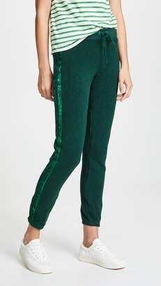 Pam & Gela Sweatpants With Velvet Stripes