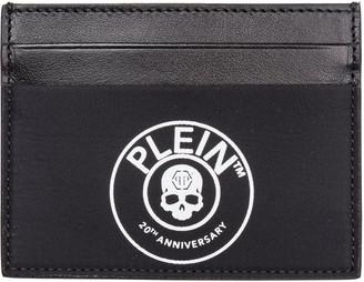 Philipp Plein Genuine Leather Credit Card Case Holder Wallet Anniversary 20th