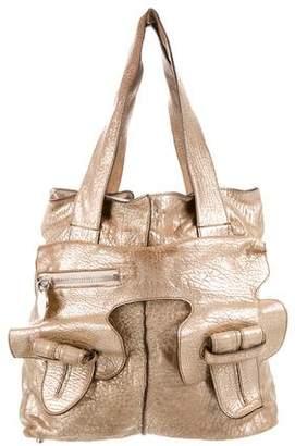 Chloé Metallic Leather Tote
