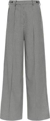 Rokh High-Waisted Wide-Leg Trouser
