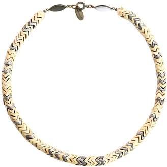 Isabel Marant Beige Wood Necklace