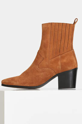 Shoe The Bear BLOCK HEEL SUEDE ANKLE BOOT