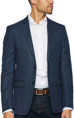 Van Heusen Blue Texture Slim Fit Sport Coat