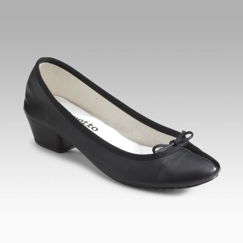 Repetto For Comme des Garcons Patent & Leather Ballet Flats