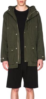Givenchy Parka $3,625 thestylecure.com