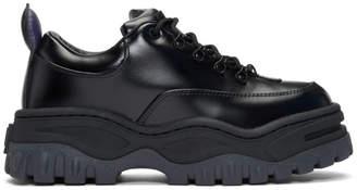 Eytys Black Leather Angel Sneakers