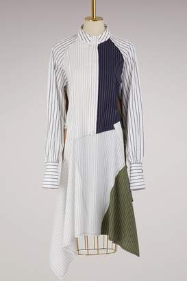 J.W.Anderson Patchwork shirt dress