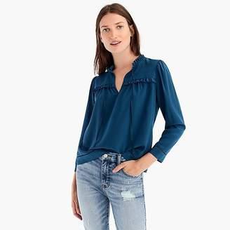 Point Sur silk popover shirt