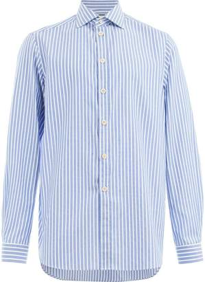 Gucci pinstriped oversized shirt