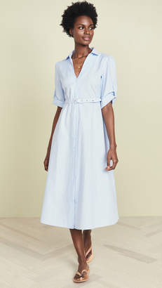 Kos Resort Shirt Cover Up Dress