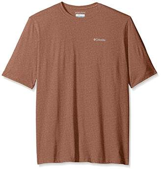 Columbia Men's Big and Tall Cullman Crest Short Sleeve Shirt