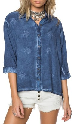 Women's O'Neill Anna Chambray Top $54 thestylecure.com