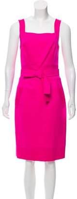 Oscar de la Renta Wool Sheath Dress w/ Tags