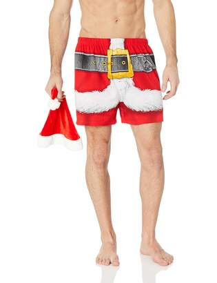Briefly Stated Men's Santa Claus Boxers