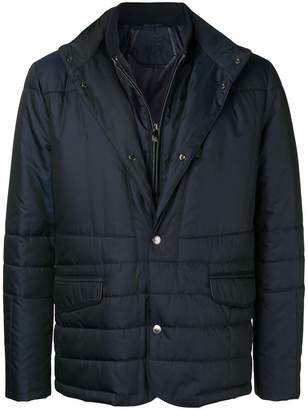 Corneliani single-breasted fitted jacket