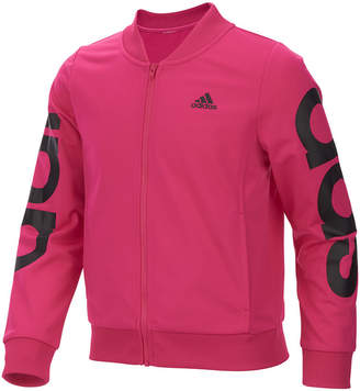 adidas Big Girls Cropped Adi Bomber Jacket