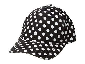San Diego Hat Company Kids Polka Dot Ball Cap (Little Kids/Big Kids)