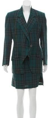 Michael Kors Vintage Linen Skirt Suit