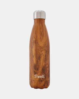 Swell Insulated Bottle Wood Collection 500ml Teakwood