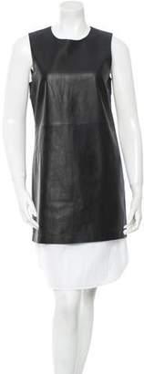 Theory Leather Dress w/ Tags