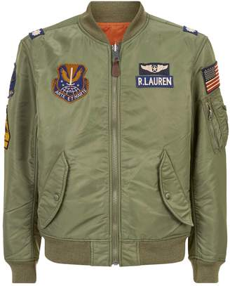 Polo Ralph Lauren Patch Bomber Jacket