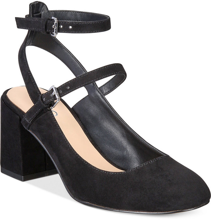 ALDO Women's Pergine Round Block-Heel Pumps