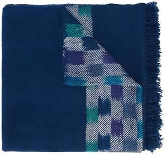 The Elder Statesman patterned scarf