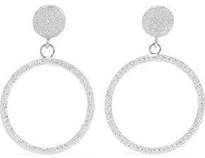 Carolina Bucci 18-Karat White Gold Hoop Earrings