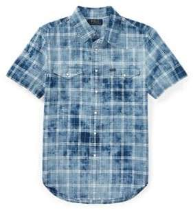 Ralph Lauren Childrenswear Western Collared Shirt