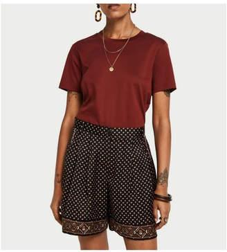 Maison Scotch Pyjama-Inspired Shorts