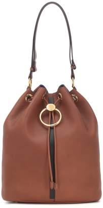 Marni Earring leather bucket bag