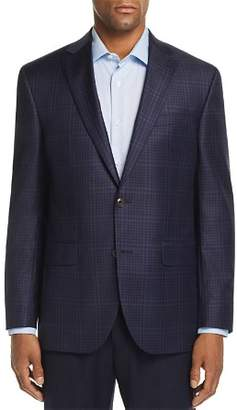 Jack Victor Tonal Windowpane Check Regular Fit Sport Coat