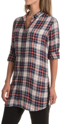 JAG Magnolia Tunic Shirt - Rayon, Long Sleeve (For Women) $16.99 thestylecure.com