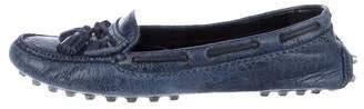 Balenciaga Arena Leather Loafers