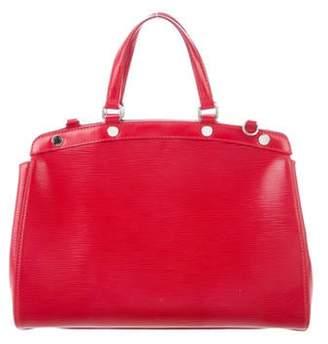 Louis Vuitton Red Epi Leather Brea MM silver Red Epi Leather Brea MM