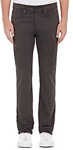 J Brand Men's Kane Stretch-Cotton Moleskin Straight Jeans - Gray
