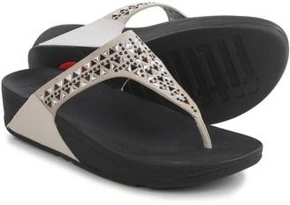 Fit Flop FitFlop Carmel Toe-Post Sandals - Suede (For Women) $39.99 thestylecure.com