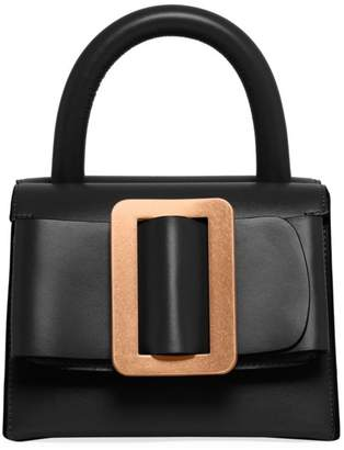 3be7732c257 Boyy Double Compartment Leather Top Handle Bag
