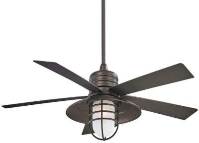 Minka Aire Minka-Aire Rainman 54-Inch Single-Light Ceiling Fan in Smoked Iron
