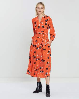 07fcfda9fe8 Whistles Red Fitted Dresses - ShopStyle Australia