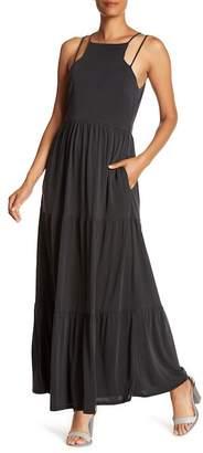 NSR Cameron Dual Strap Maxi Dress