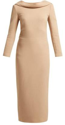 Carl Kapp - Noah Wool Crepe Dress - Womens - Nude