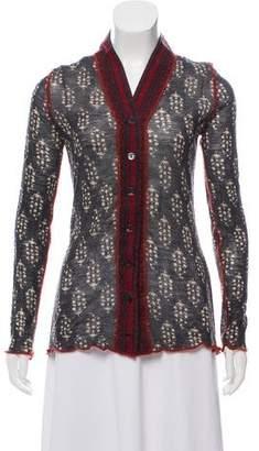 Jean Paul Gaultier Wool Patterned Cardigan